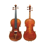4/4 Decorated Hellier Strad Violin