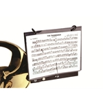 Clamp-on Marching Trombone Lyre