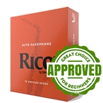 Rico Reeds for Alto Saxophone- Choose Strength and Quantity