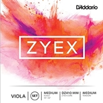 D'Addario Zyex Individual Strings for Viola
