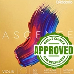 D'Addario Ascenté String Set for Violin
