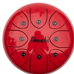 "Amati 8"" Tongue Drum- Red"