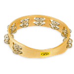 "CP by LP® 10"" Tambourine Double Row"