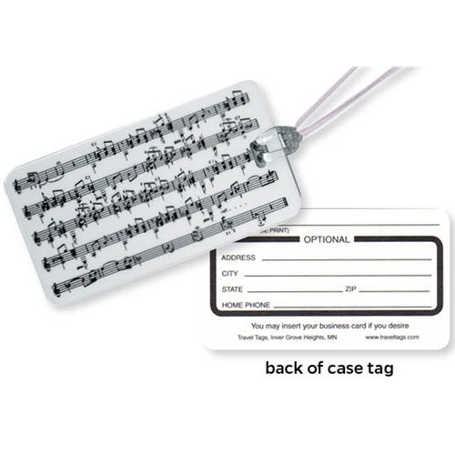 Music Instrument Case Tag