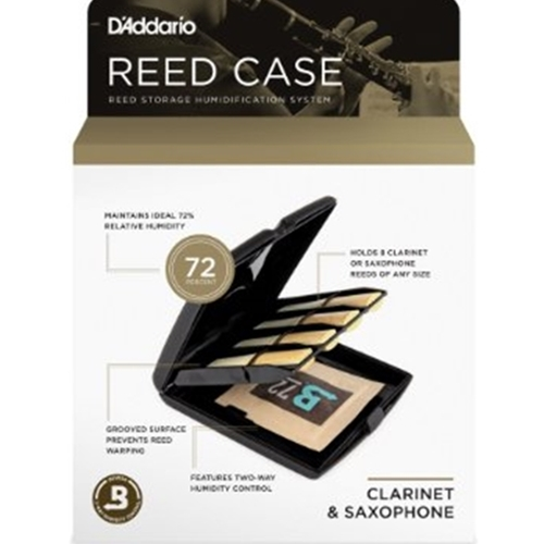 D'Addario Saxophone or Clarinet Reed Case