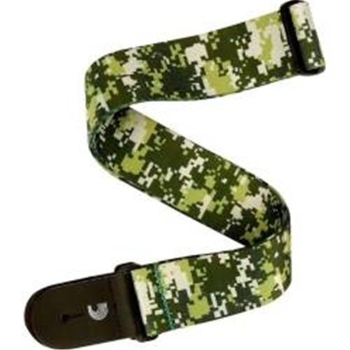 D'Addario Planet Waves Digital Camo Guitar Strap