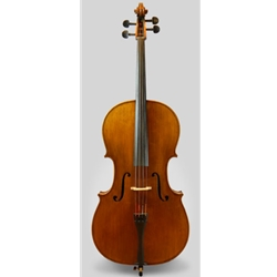 4/4 Samuel Shen Fully Carved Cello